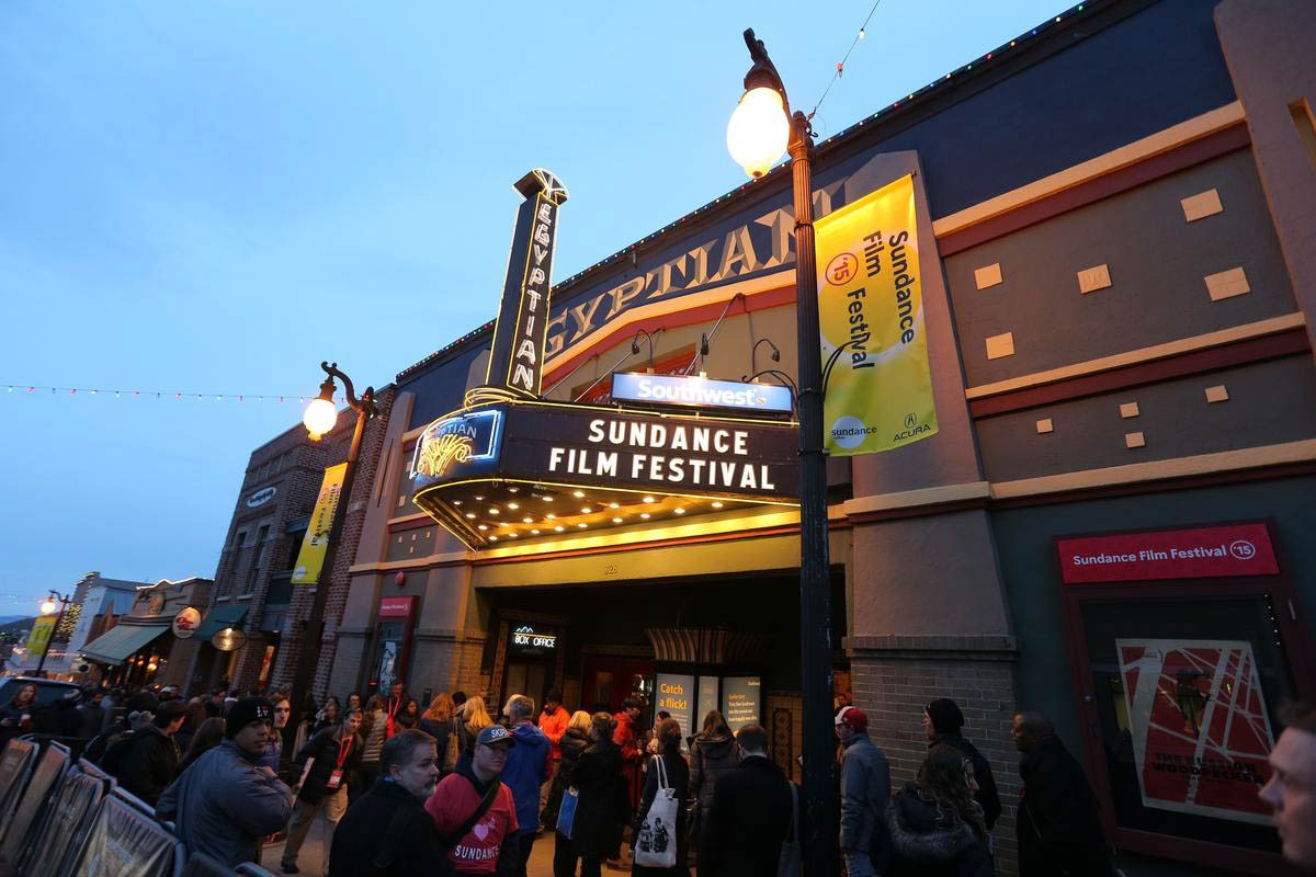 A Sundance Film Festival theatre.