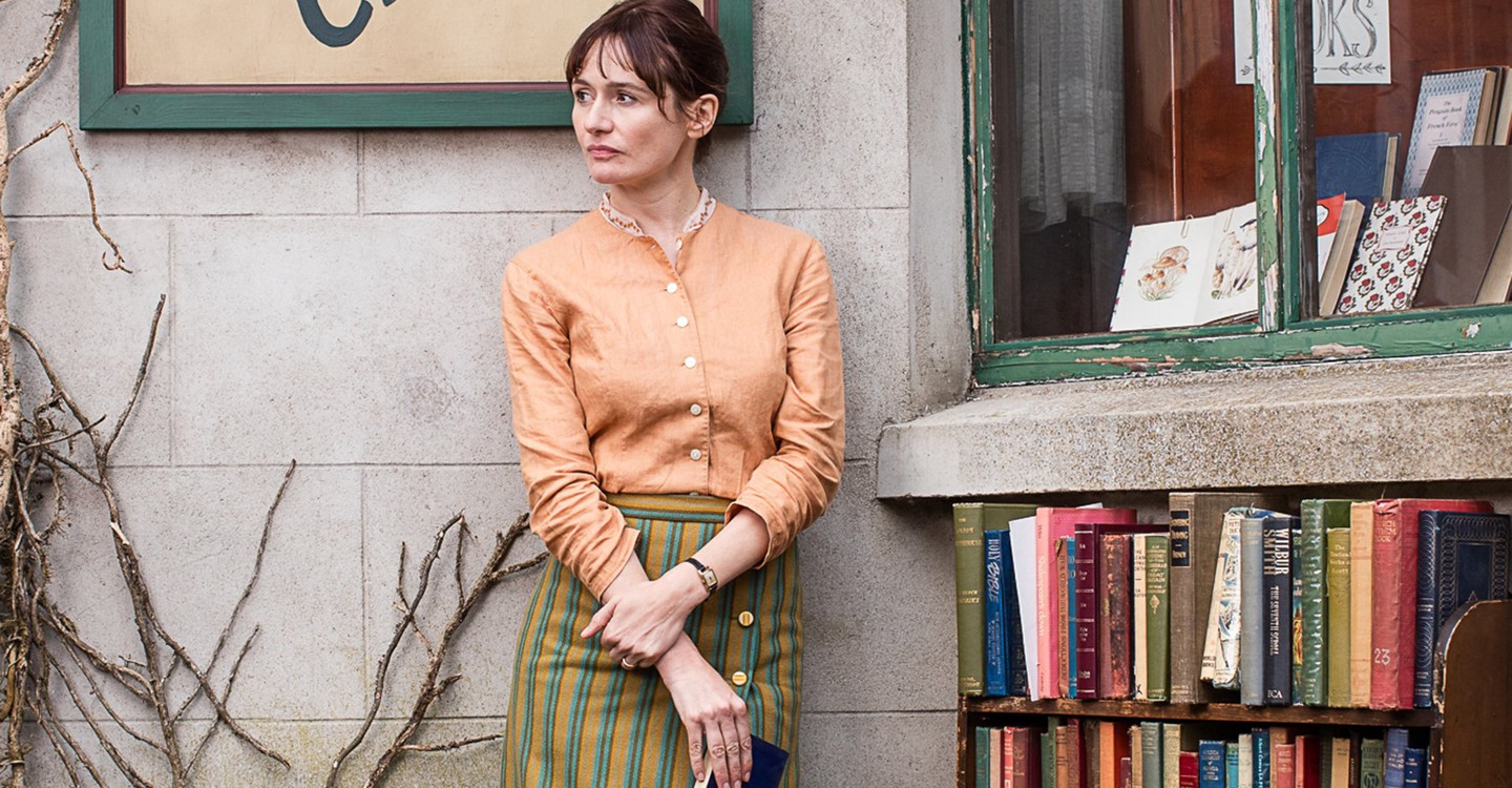 Emily Mortimer in a scene from The Bookshop.
