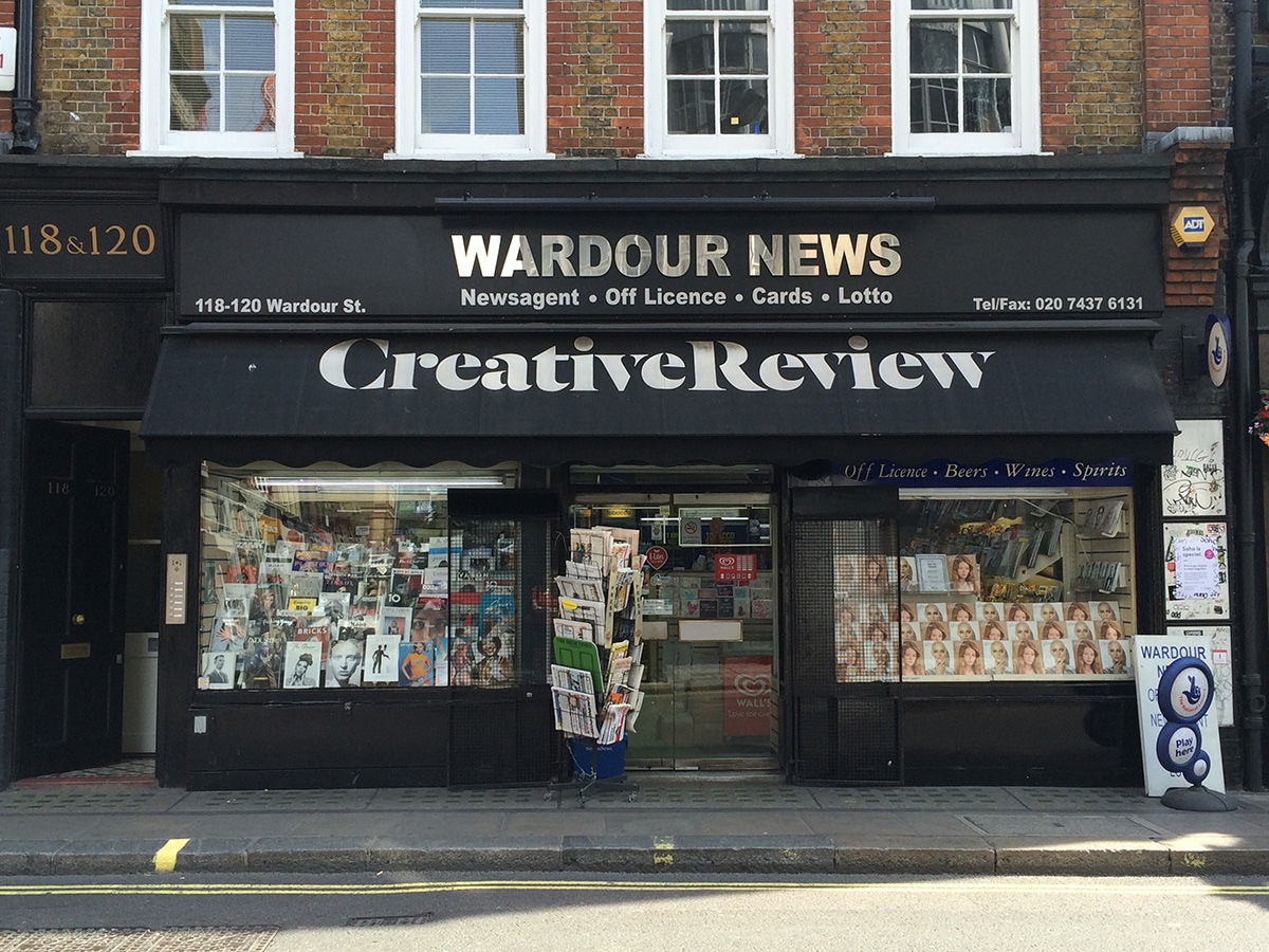 Wardour News in London.