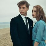 Saoirse Ronan and Billy Howle in a scene from On Chesil Beach.