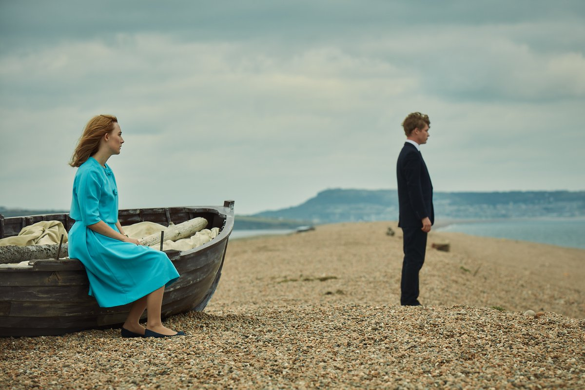 A scene from On Chesil Beach.