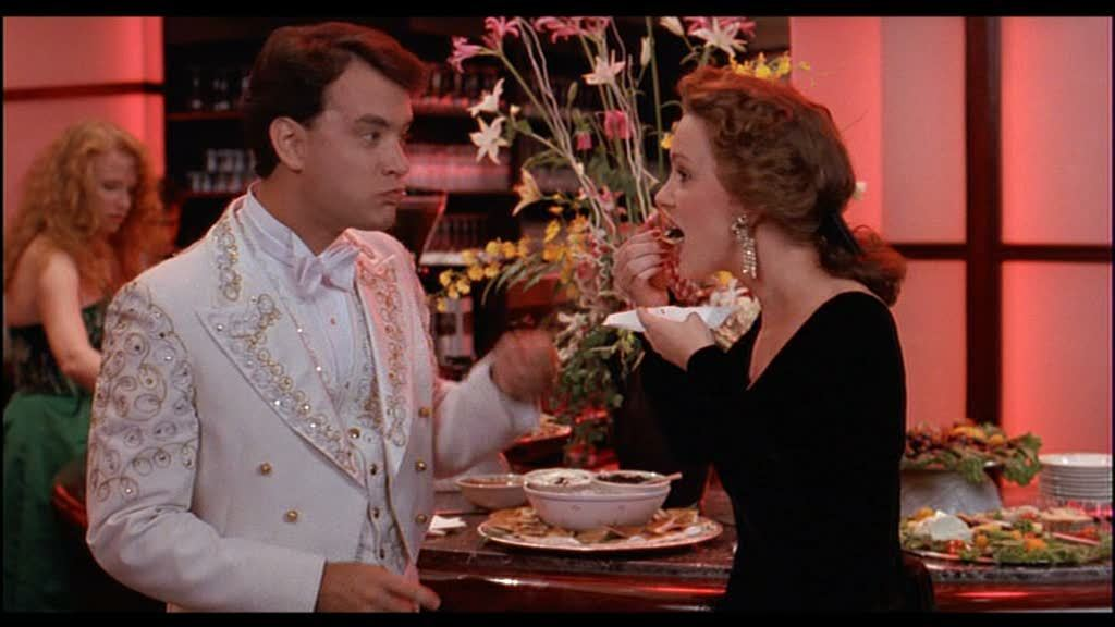Tom Hanks and Elizabeth Perkins in Big.