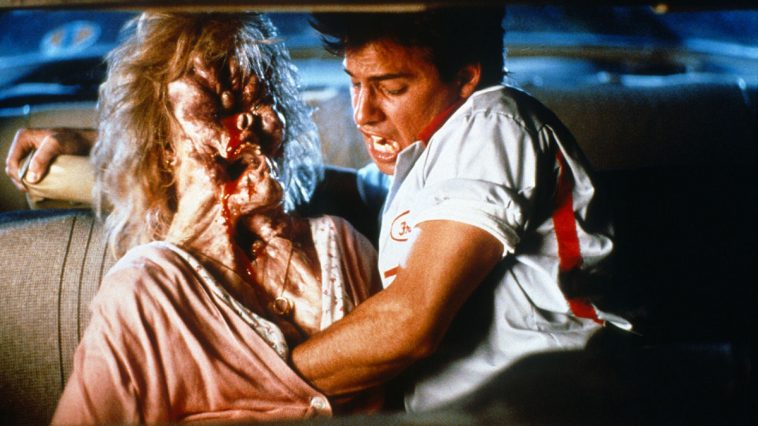 A scene from The Blob.