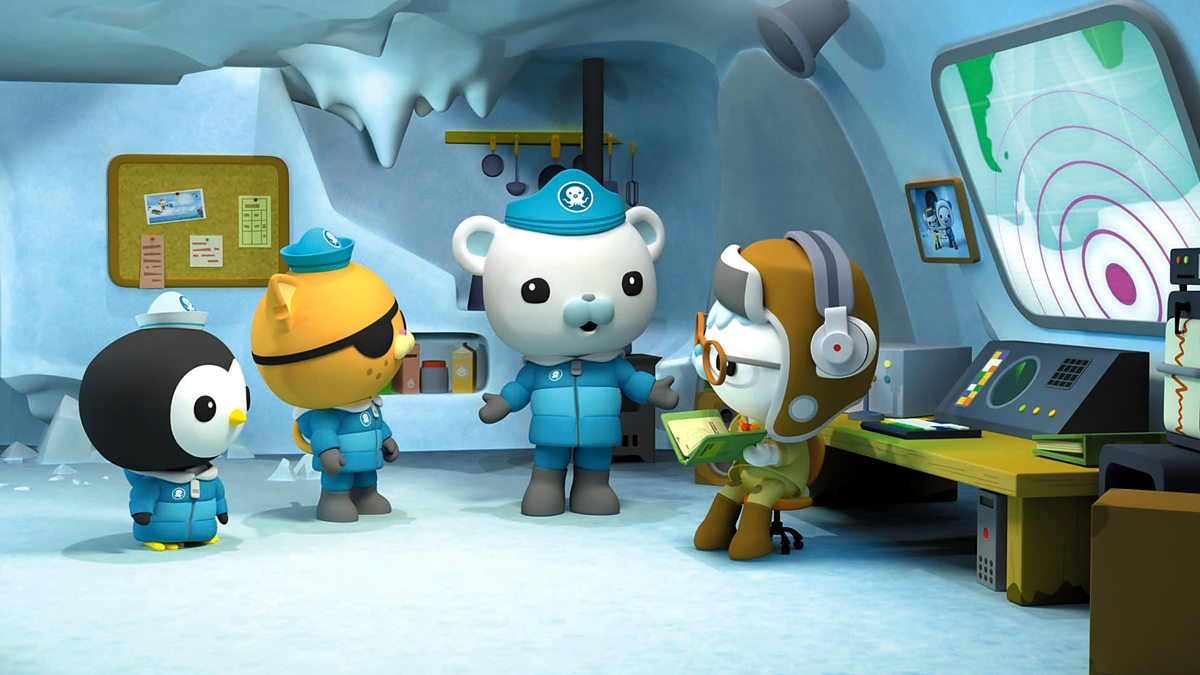Captain Barnacles in a scene from Octonauts