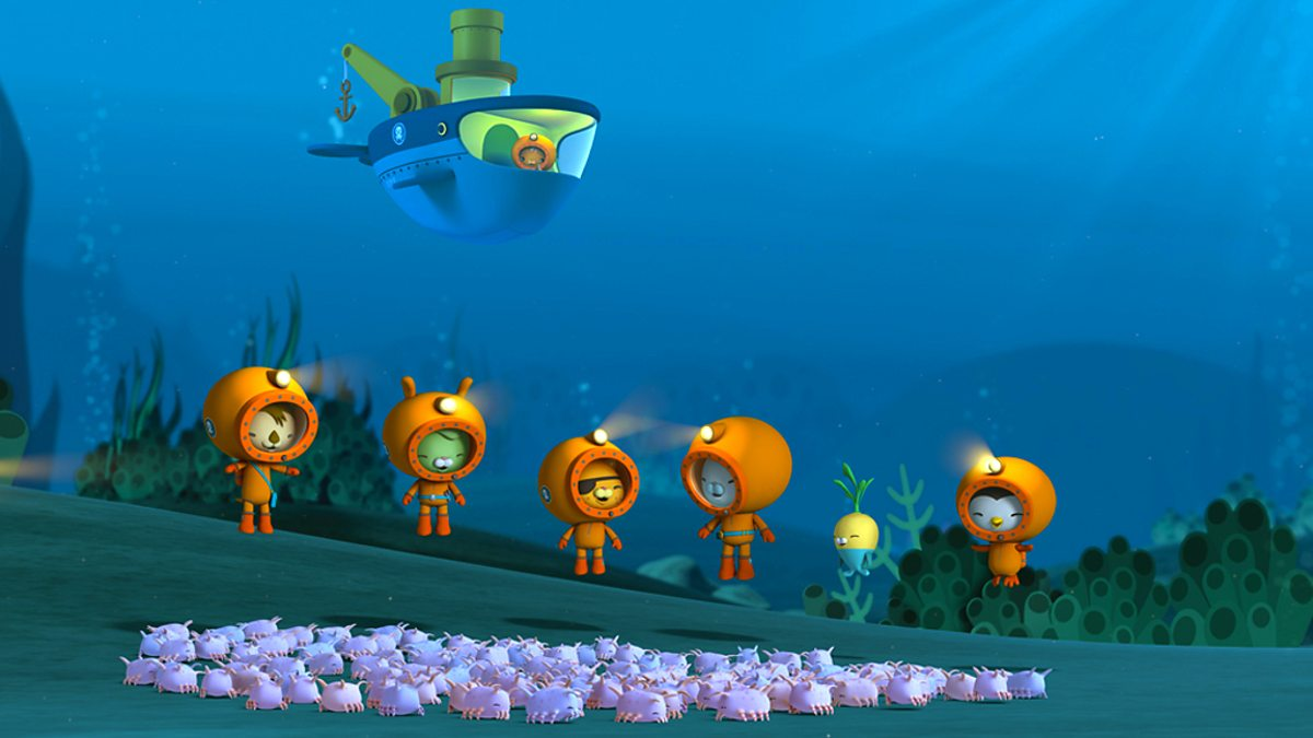 A scene from Octonauts.