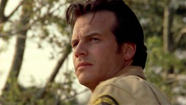 Bill Paxton in a scene from One False Move.
