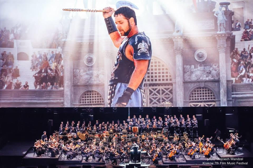 Gladiator in Concert with live orchestra.