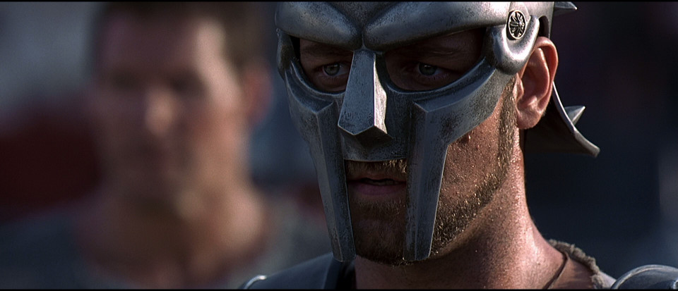 A scene from Gladiator.
