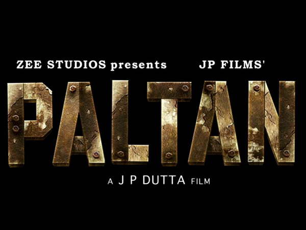 Paltan: first look posters of upcoming Bollywood war movie – The HotCorn