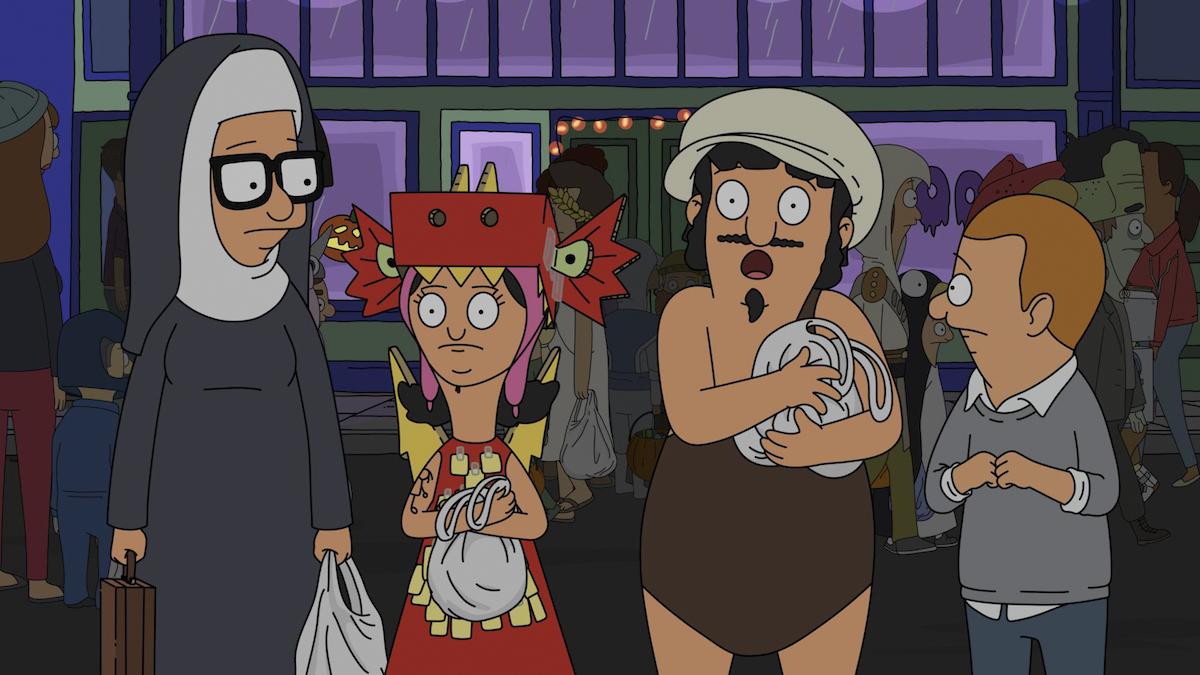 Nightmare On Ocean Avenue Street – Bob's Burgers season 9