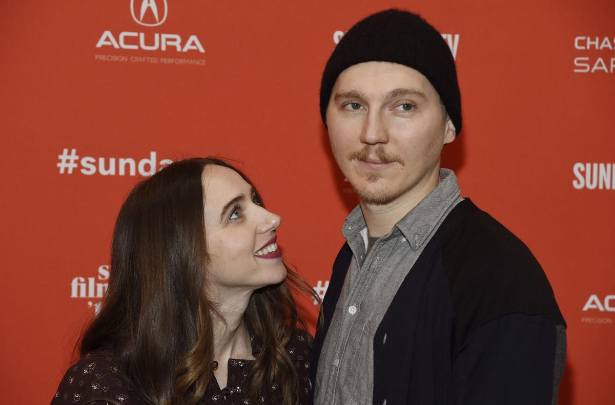 Co-screenwriter Zoe Kazan and Paul Dano