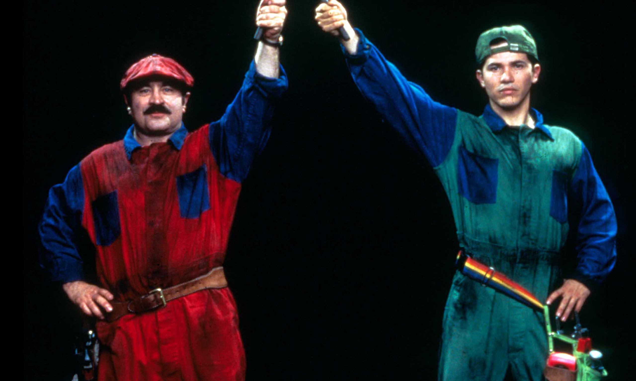 Nintendo's Super Mario Bros  and the failed movie adaptation