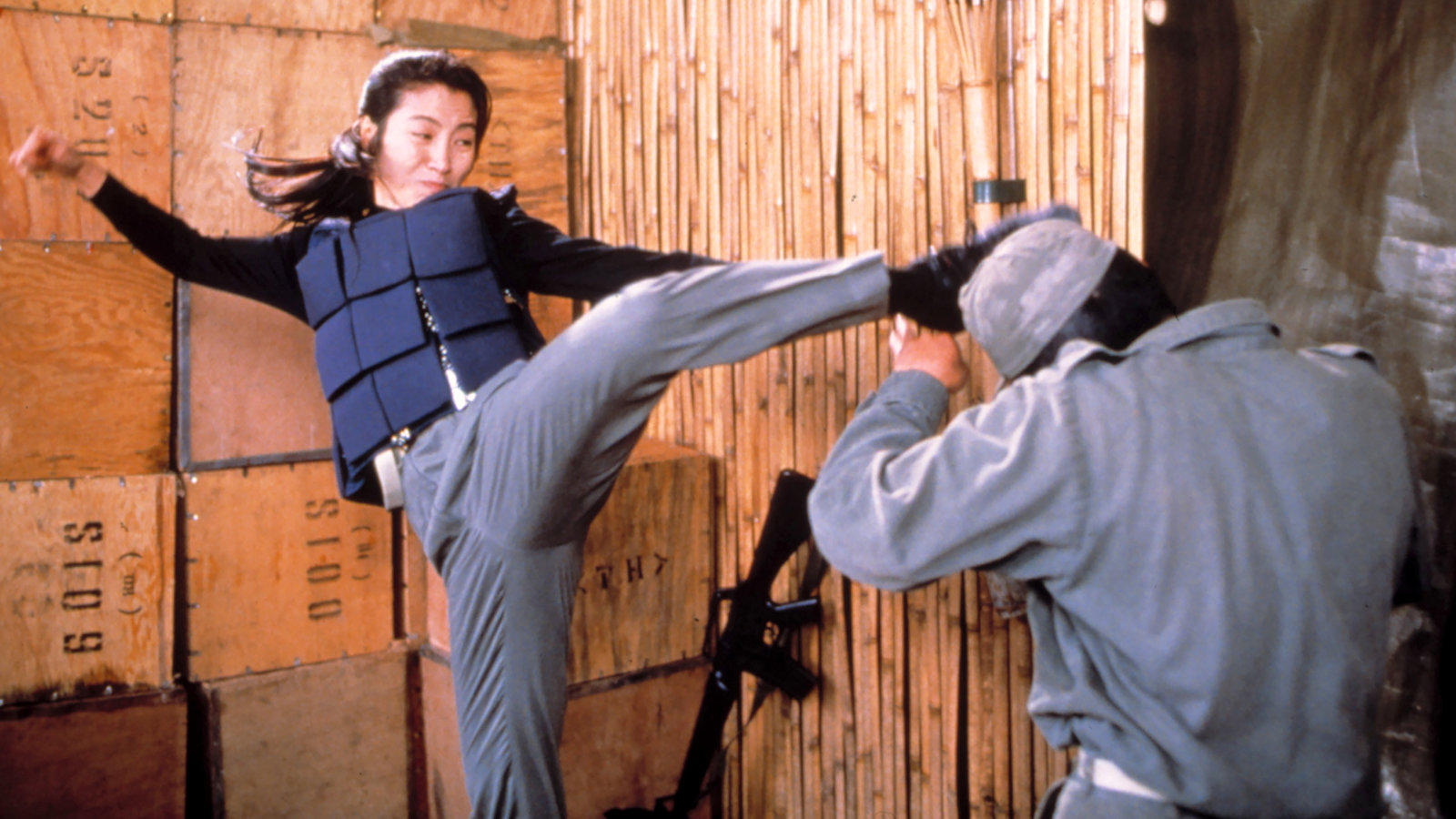 Michelle Yeoh in Police Story 3