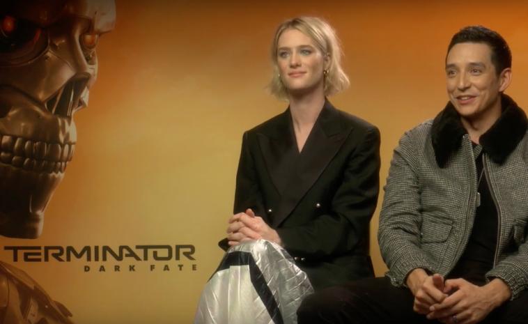 Terminator: Dark Fate Interview - Mackenzie Davis and Gabriel Luna