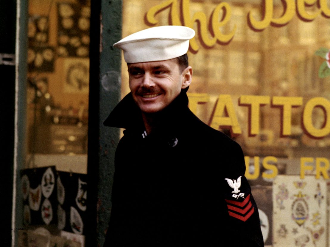Jack Nicholson in The Last Detail