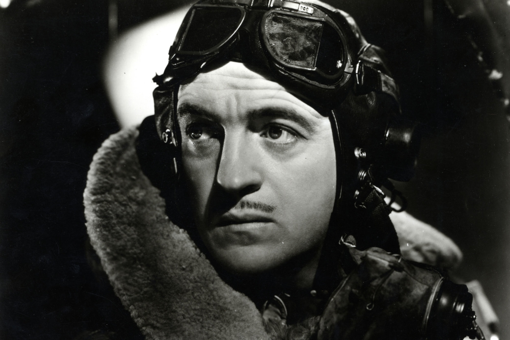 David Niven plays doomed RAF pilot in A Matter of Life and Death (1946)
